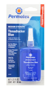 blue threadlocker